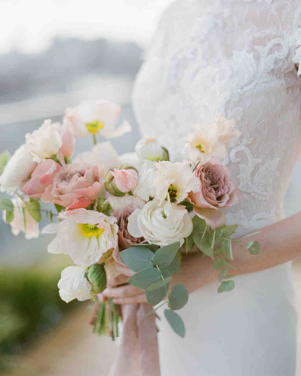 Petite Bouquet with Roses, Ranunculus, and Anemones
