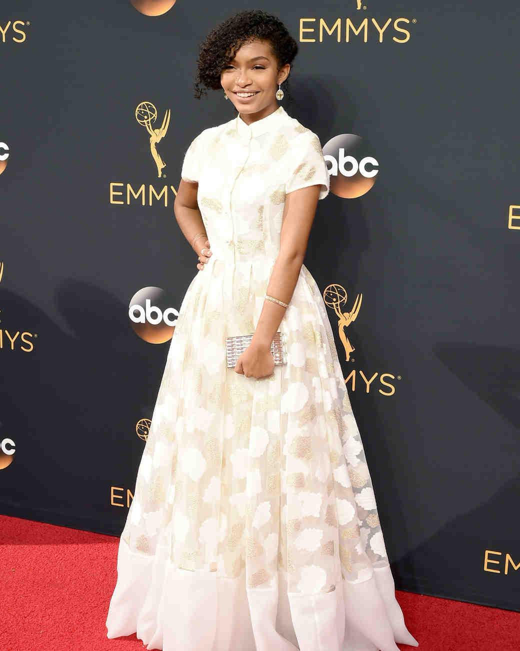 Yara Shahidi Emmy Awards 2016