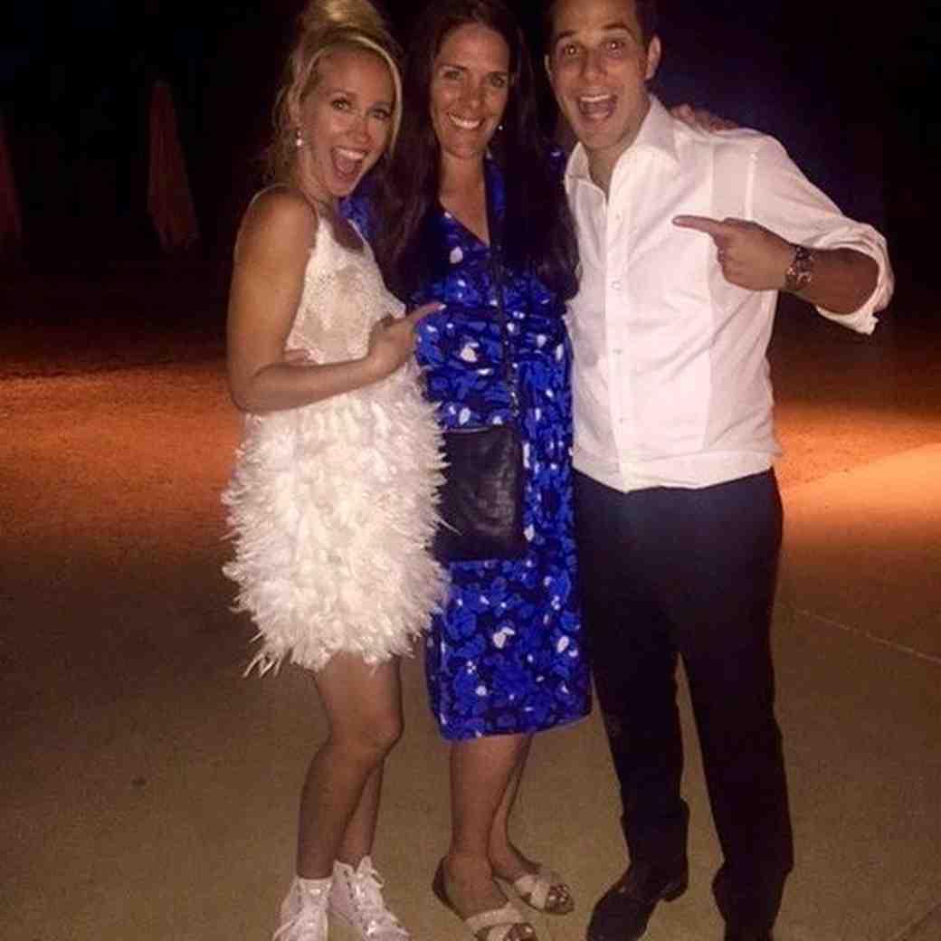 Anna Camp second wedding dress