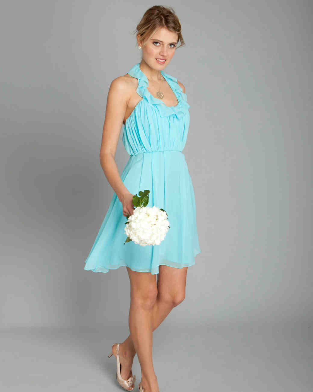 Teal bridesmaid dresses beach wedding high cut wedding for Teal dresses for weddings
