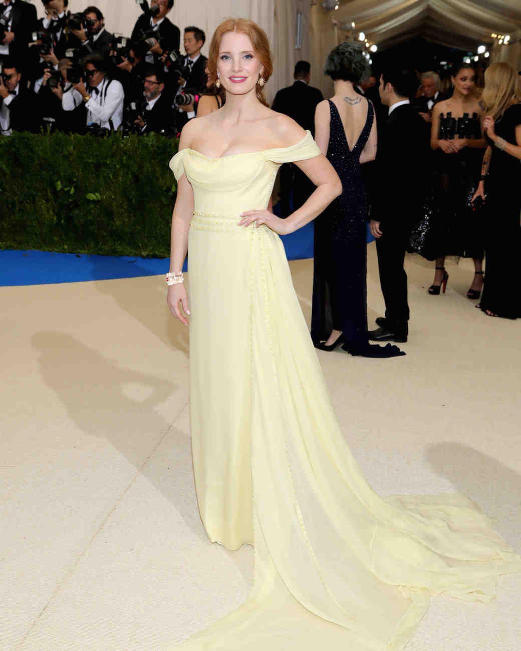Jessica Chastain Met Gala 2017 Dress
