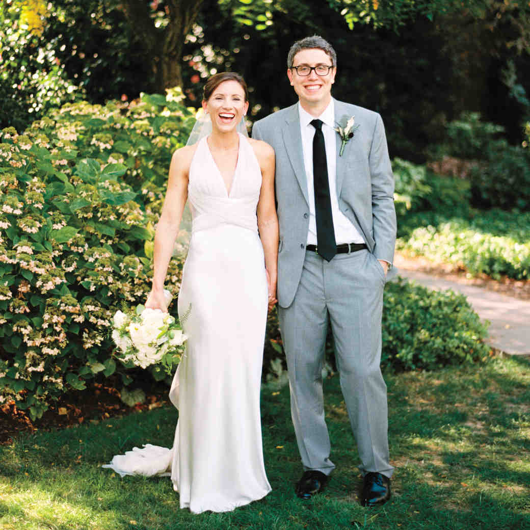 Kathryn and Jon's Rustic Rooftop Wedding in D.C.