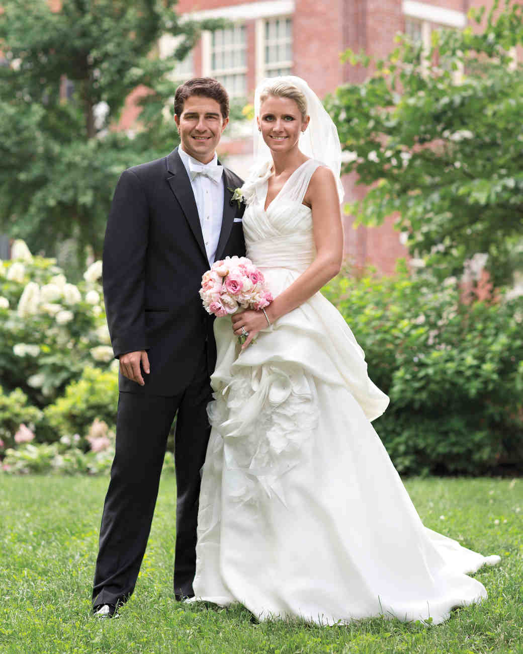 Black Tie Wedding Ideas: A Traditional And Formal Pink-Colored Wedding In