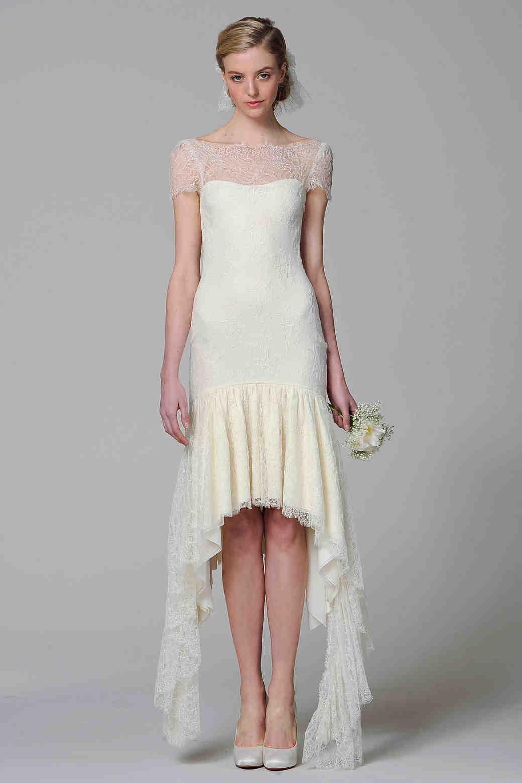 Short Wedding Dresses from Spring 2013 Bridal Fashion Week ...