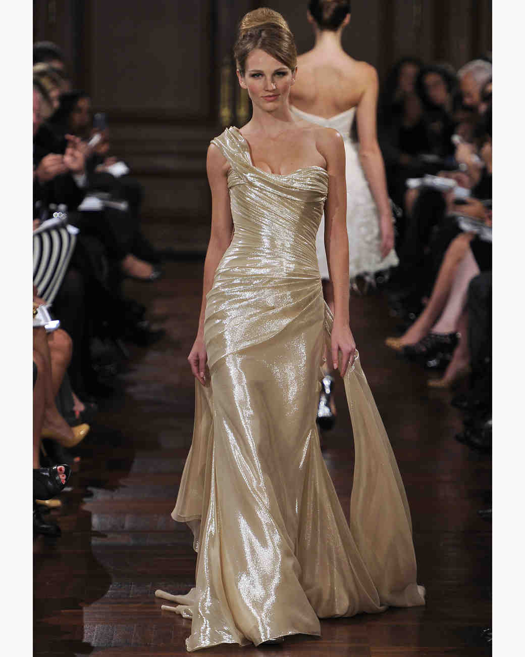 Dress Gowns For Weddings: Gold Wedding Dresses, Fall 2012 Bridal Fashion Week
