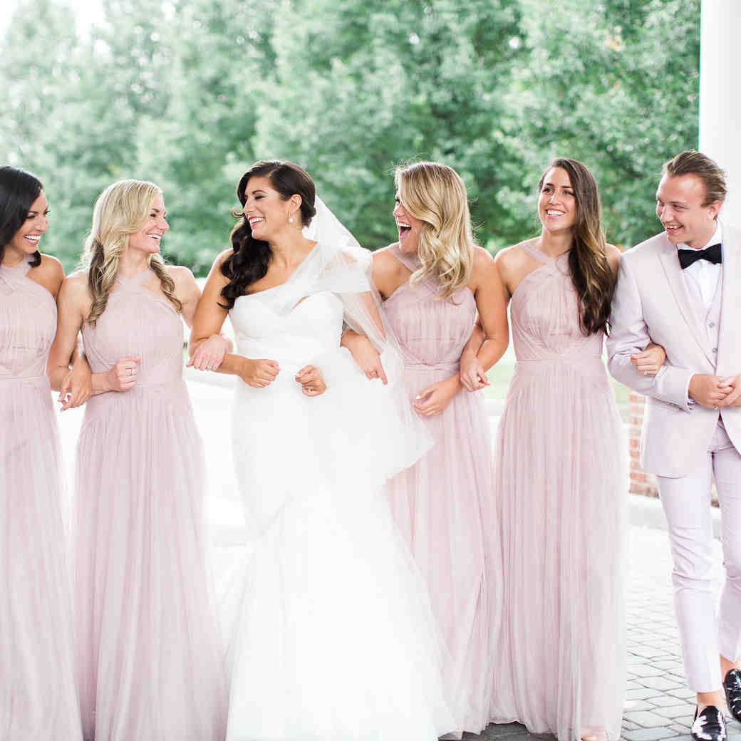 """9 Ways to Use Pantone's Color of the Year """"Rose Quartz"""" in Your Wedding"""