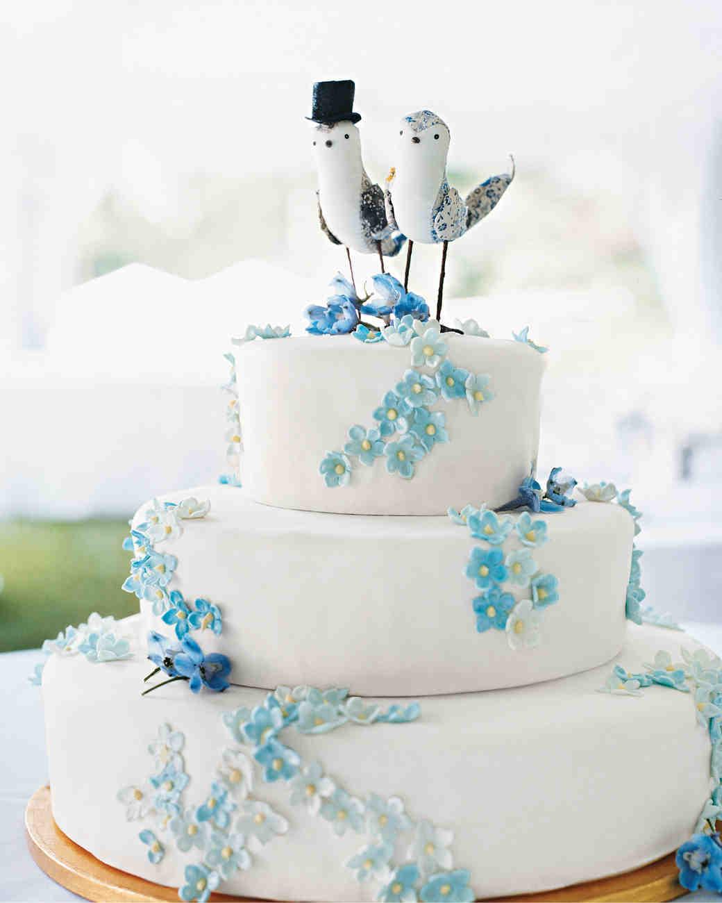 "Blue Wedding Cake Ideas: 25 Unique Ideas For Your ""Something Blue"""
