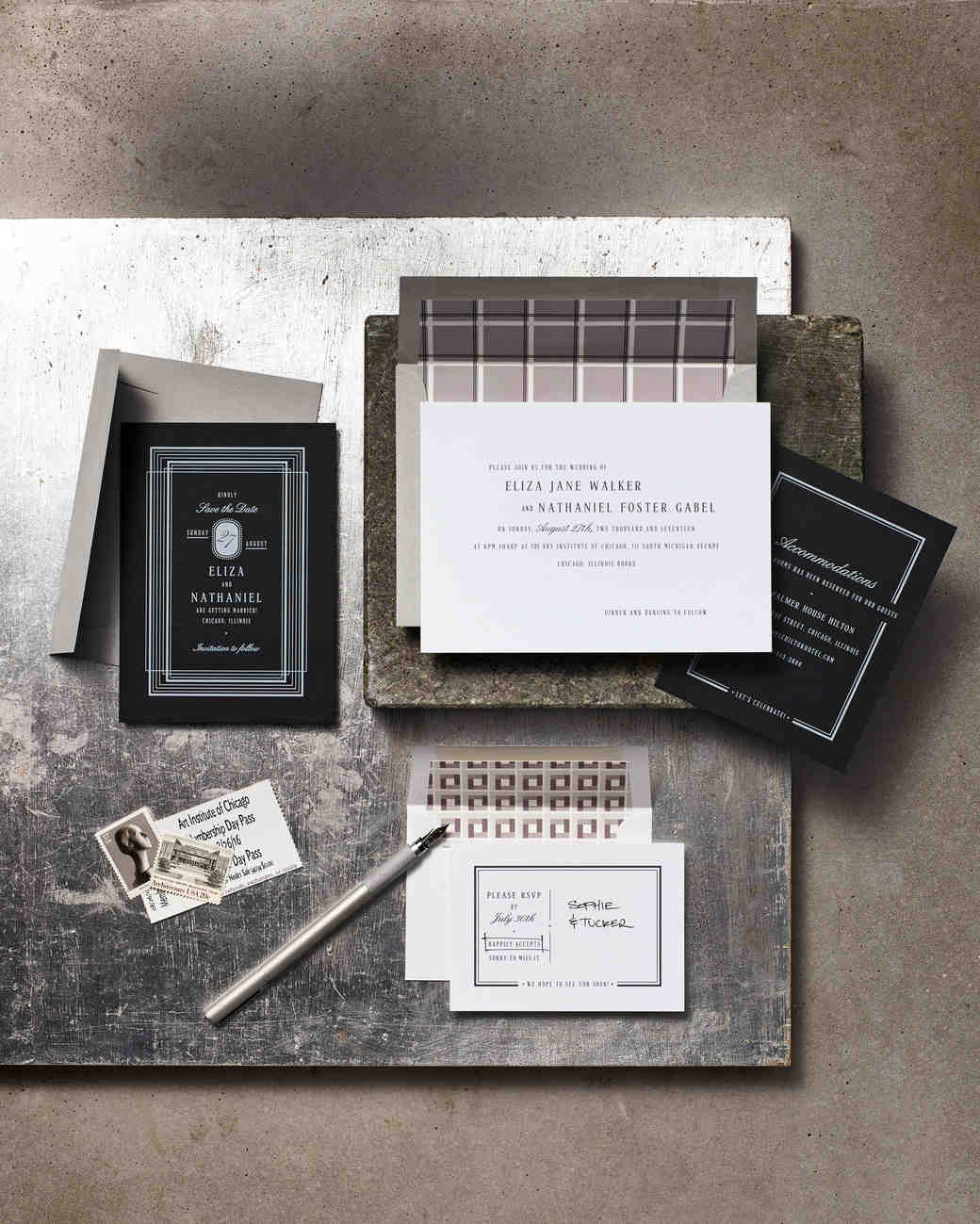 urban-inspired stationery