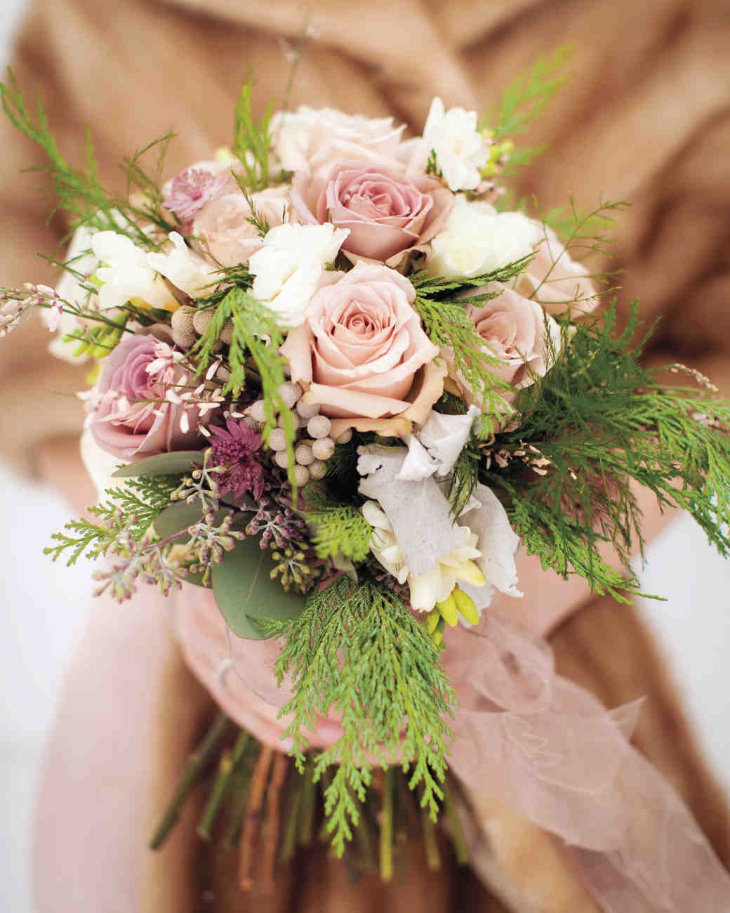 Ideas For Wedding Flower Arrangements: Pretty In Pink Wedding Bouquet Ideas