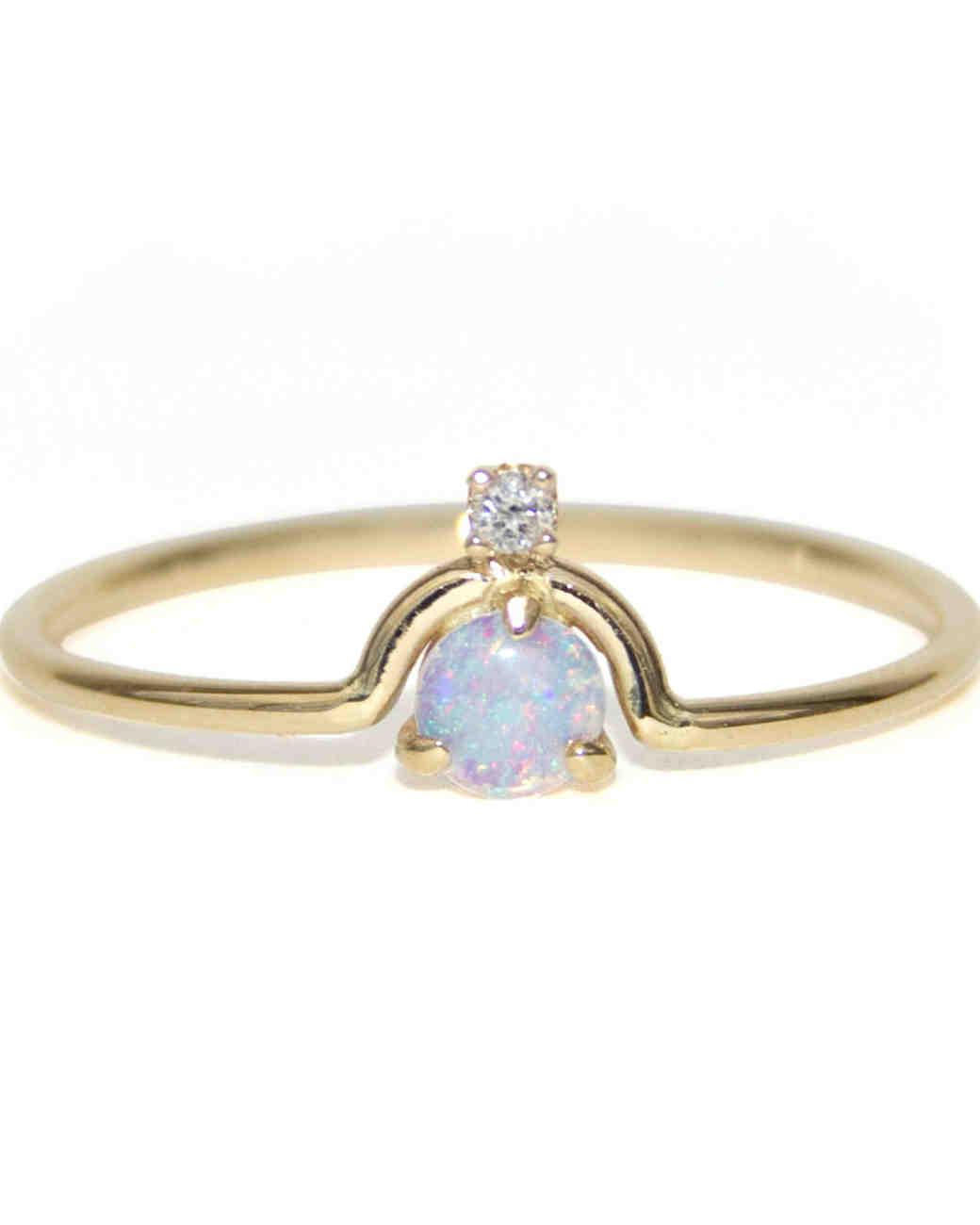 Opal Engagement Rings: Opal Engagement Rings That Are Oh-So Dreamy