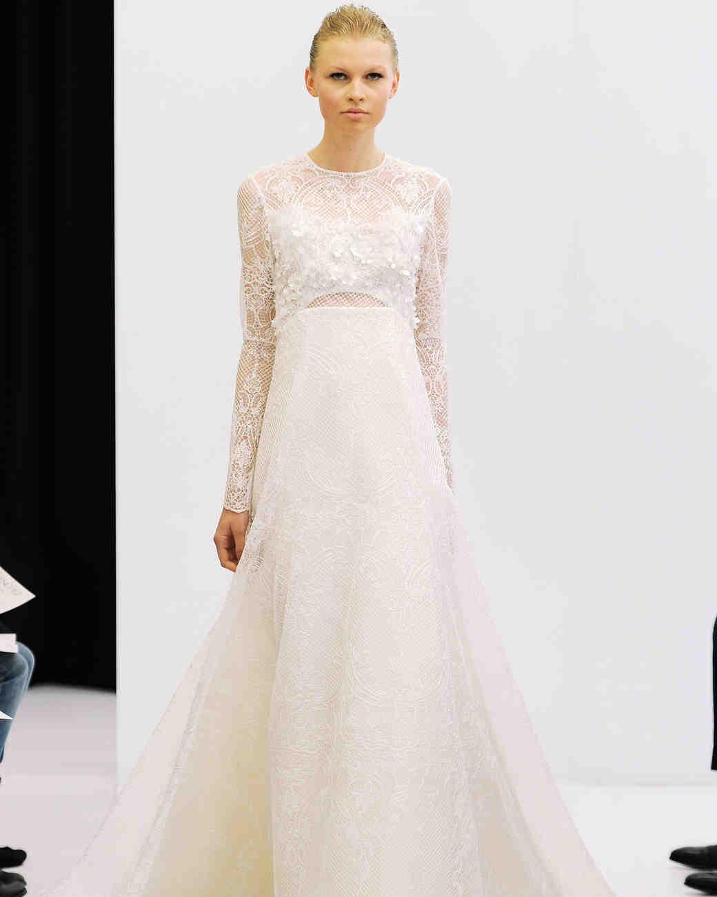 Martha Stewart Weddings: Angel Sanchez Spring 2017 Wedding Dress Collection