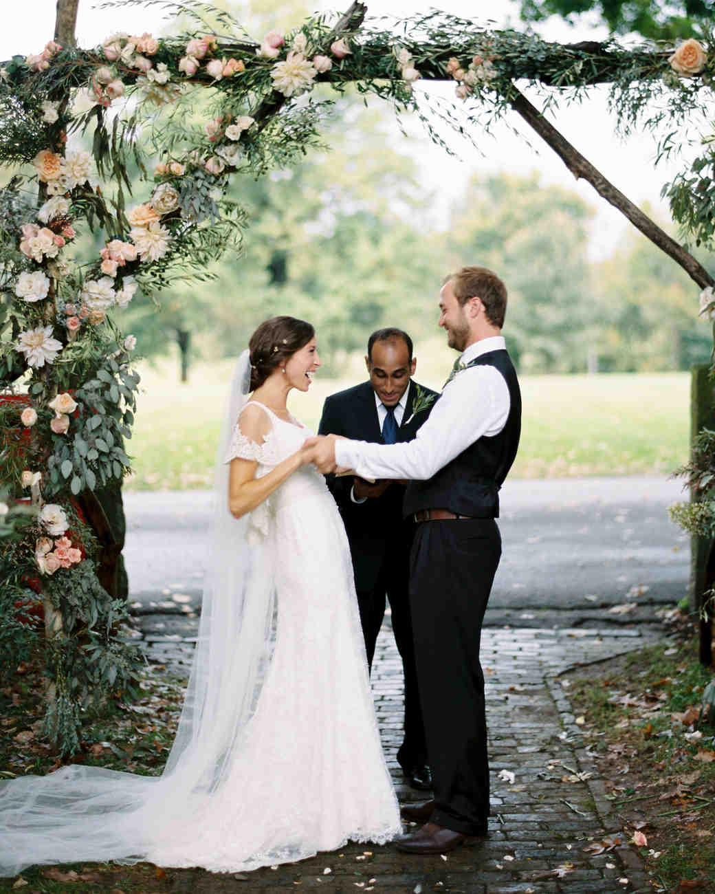 Martha Stewart Weddings: A Rainy, Intimate Farm Wedding In Kentucky