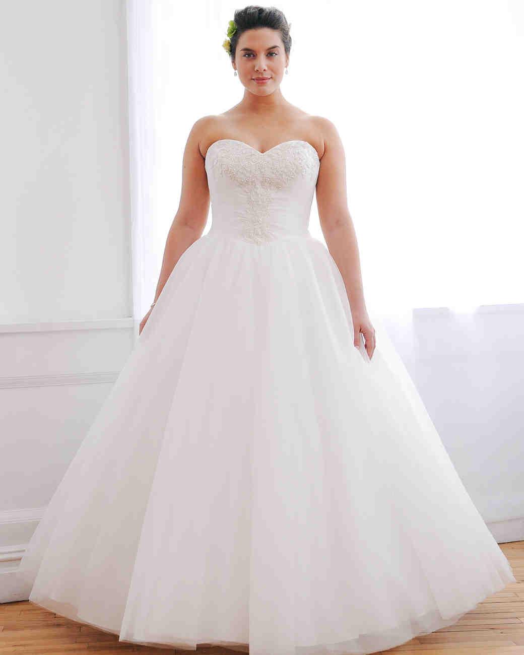 David's Bridal Fall 2016 Wedding Dress Collection | Martha Stewart ...