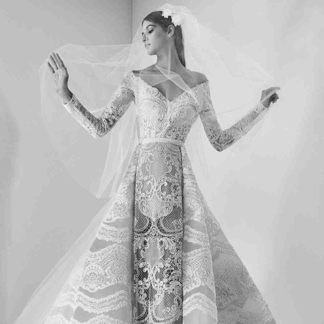 Elie Saab Fall 2017 Wedding Dress Collection