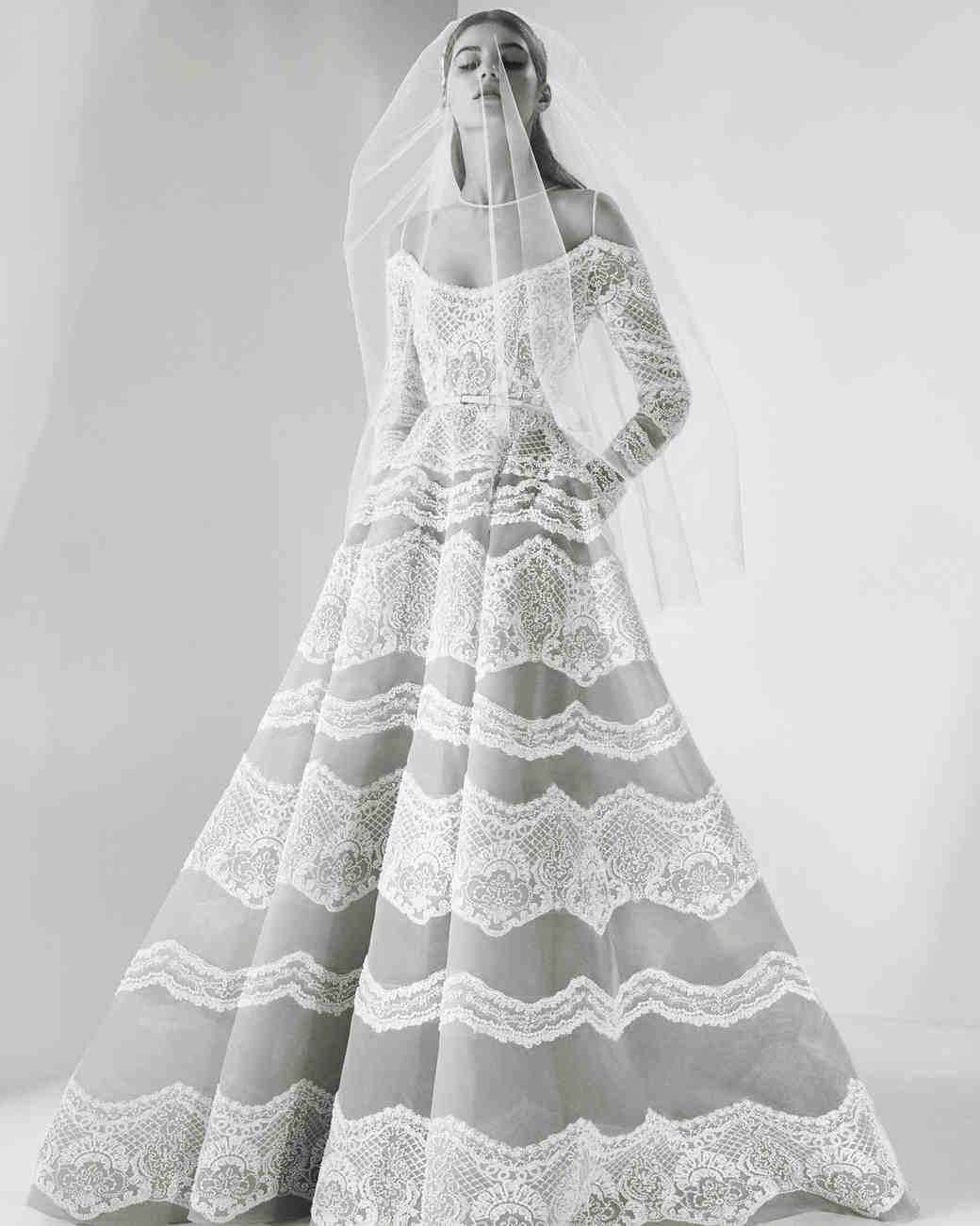 Wedding Dresses 2017 Elie Saab : Elie saab fall wedding dress collection martha