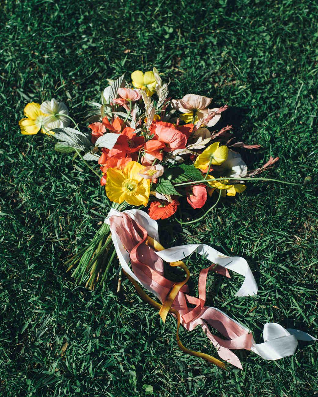 Wedding Bouquet Cyanotype