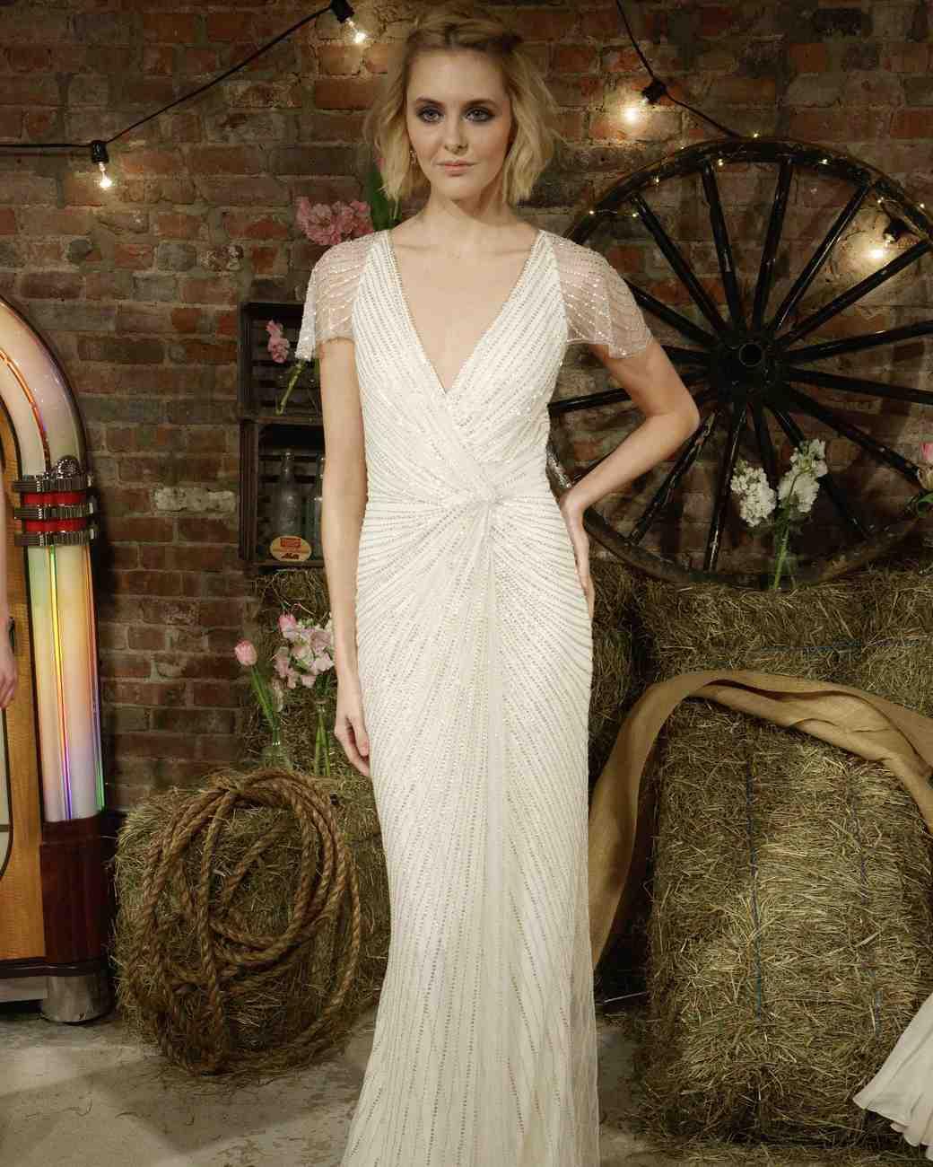 Jenny Packham Glam Wedding Dress