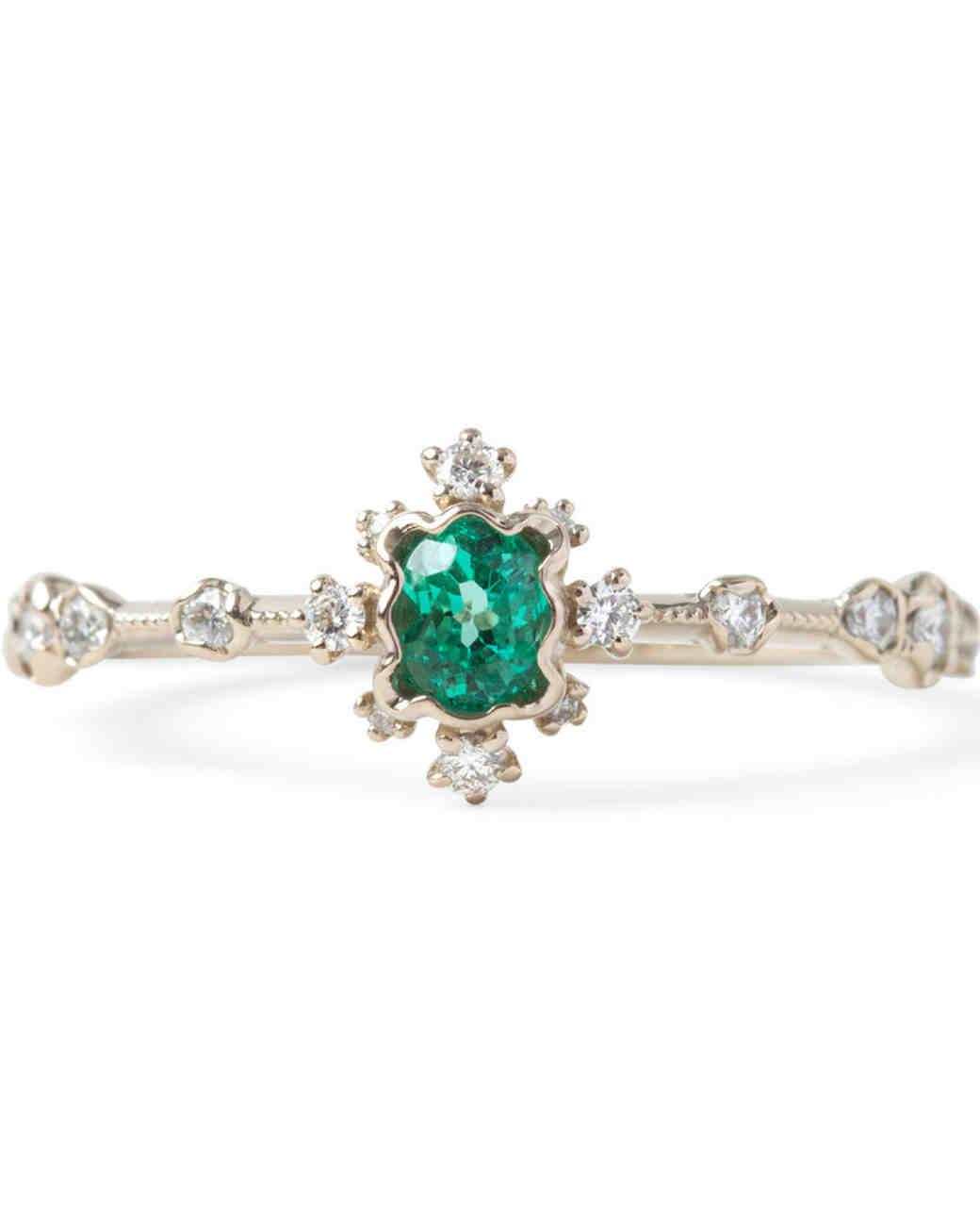 Kataoka Emerald Engagement Ring