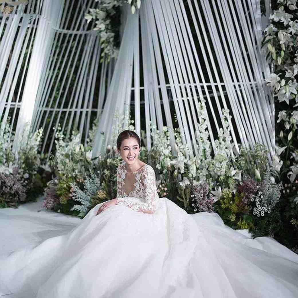Noey Chotika Wongwilas Wedding Dress