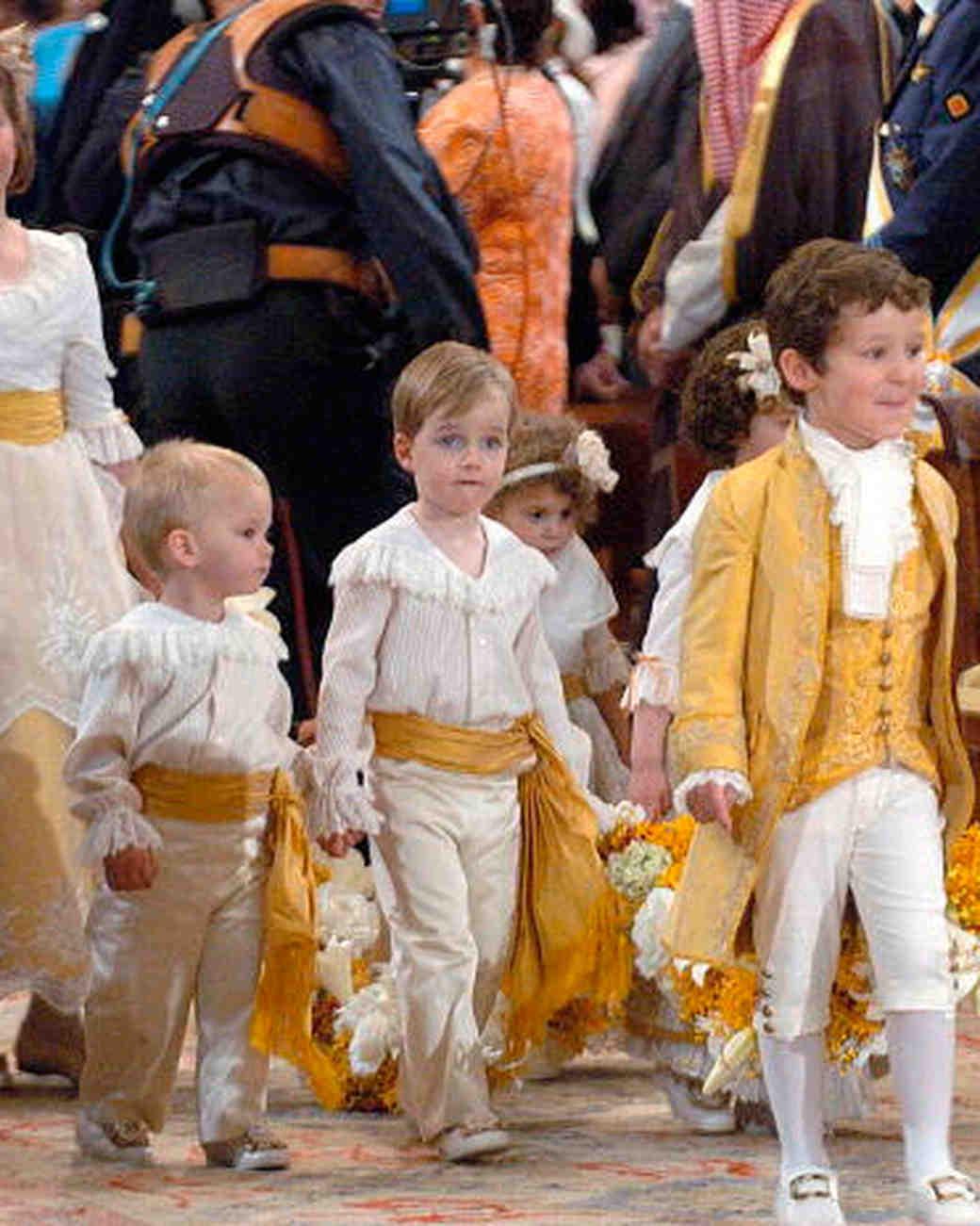 21 Royal Children At Weddings Martha Stewart Weddings