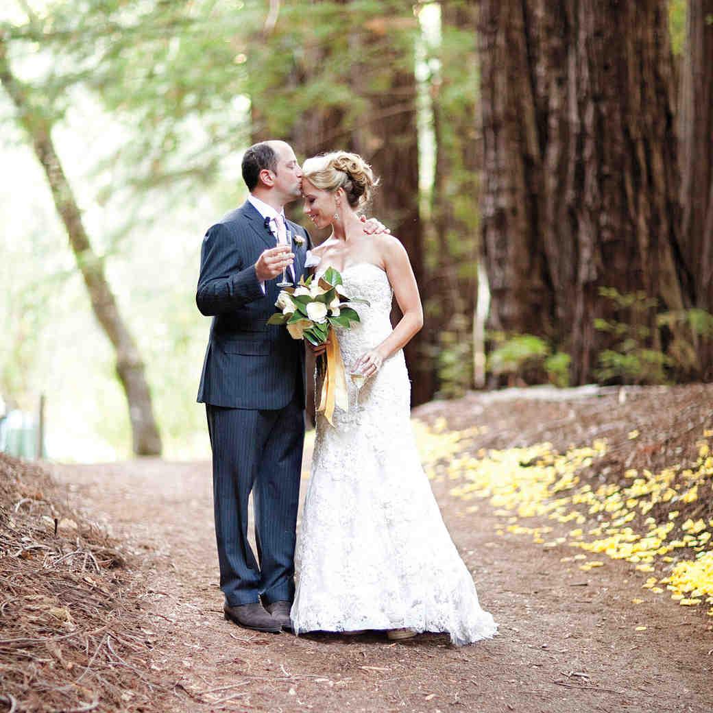 A Formal Rustic Outdoor Destination Wedding in California