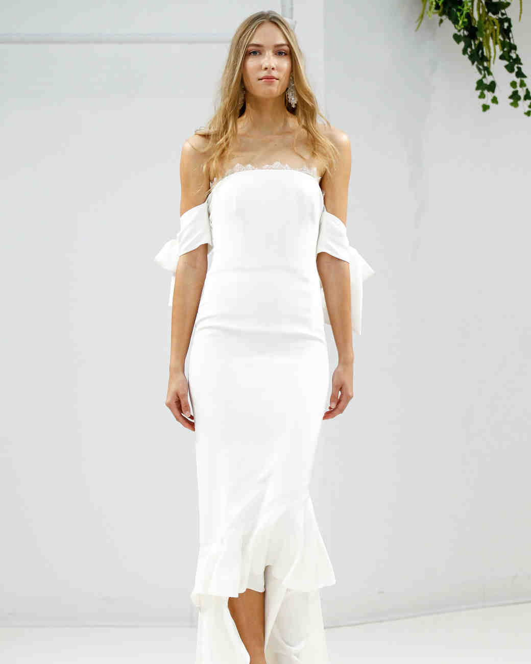 Sachin and Babi Wedding Dress Fall 2017