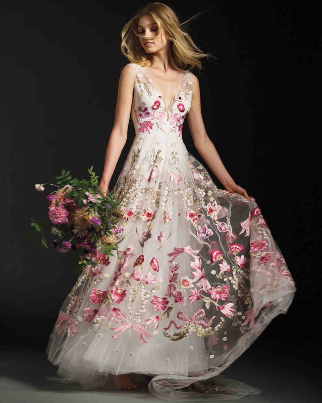 Fall color wedding dresses pictures