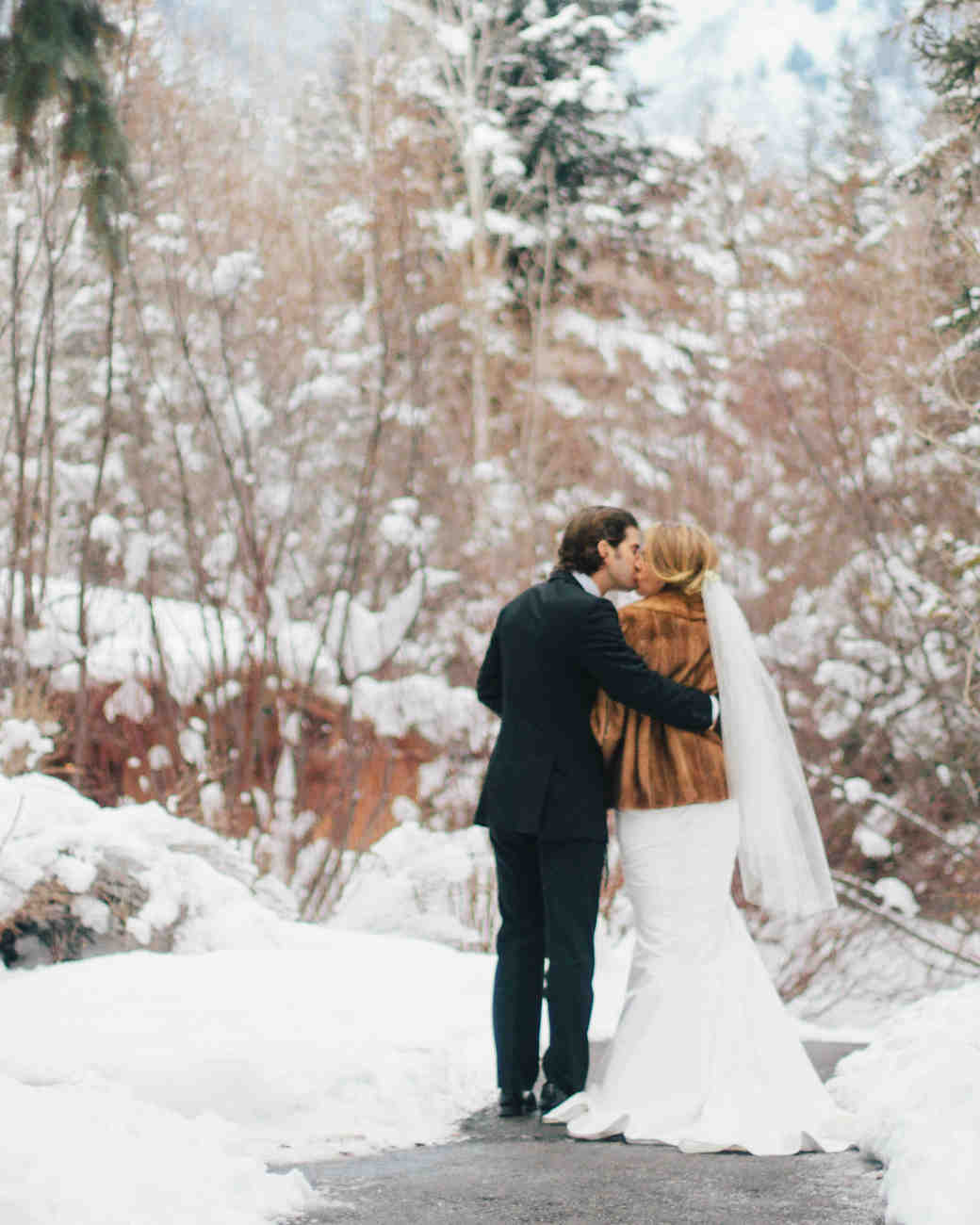 Winter Weddings: Whitney And Jordan's Winter Wedding In Utah