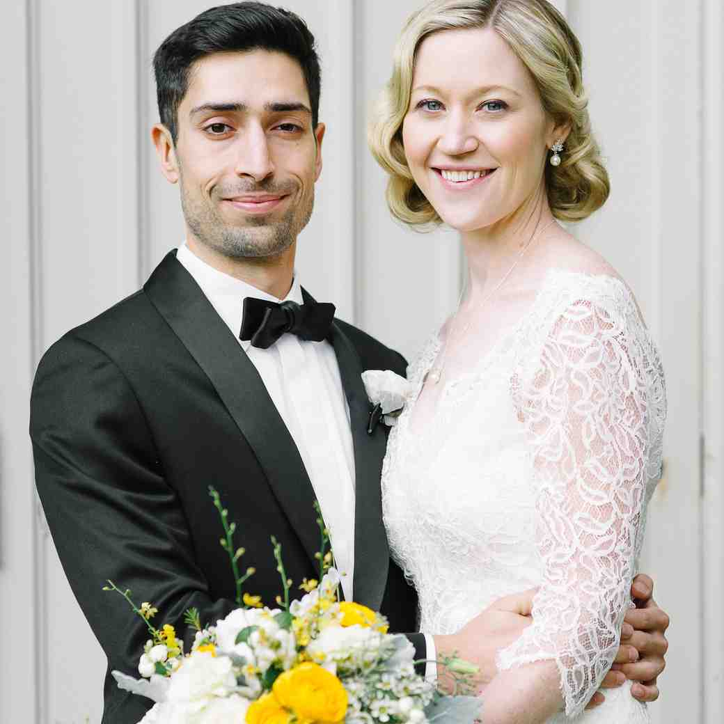 A Modern Yellow-and-White Wedding in Toronto