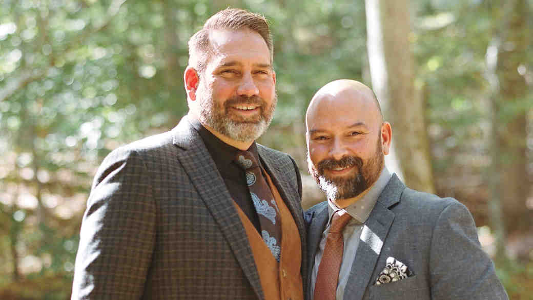 This Historic Church Ceremony Was Followed By an Intimate Reception