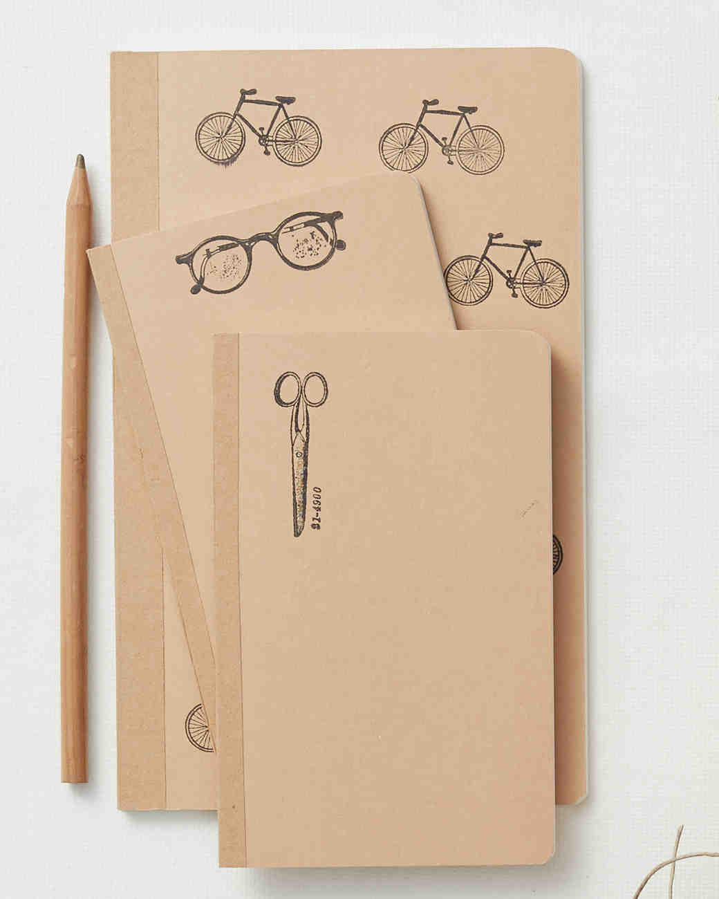 Stamped Notebook