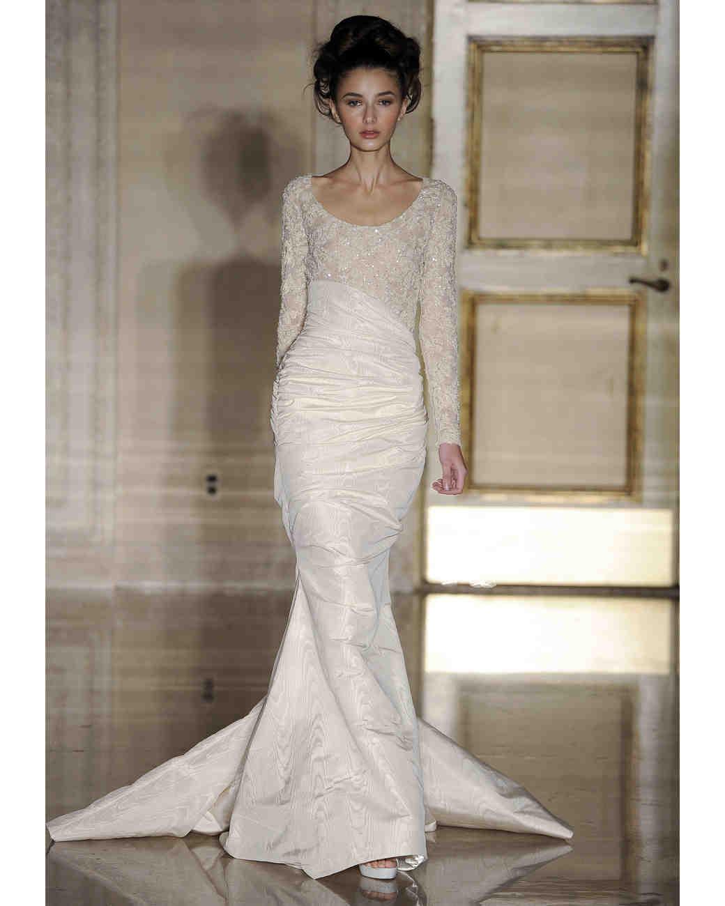 Long Sleeve Wedding Dresses, Fall 2013