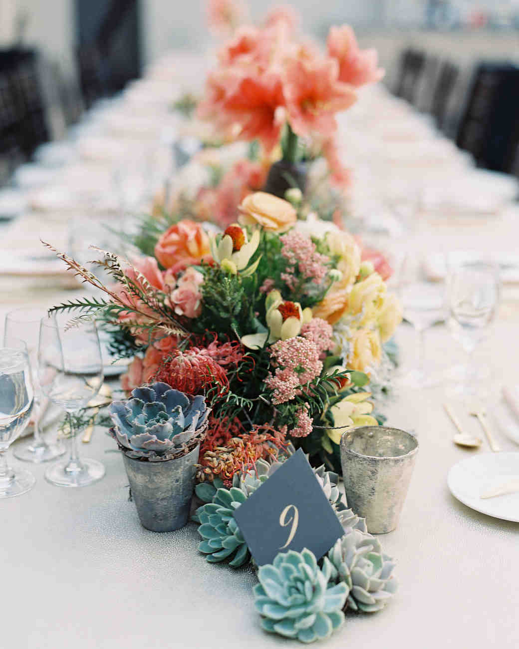 Flowers For Wedding Table Centerpieces: 36 Ideas For Using Succulents At Your Wedding