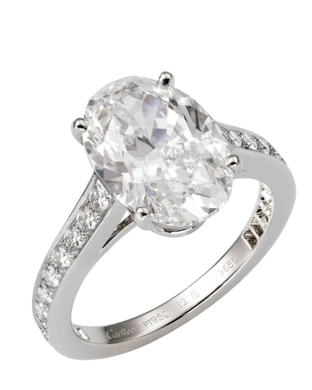 Cartier Oval Engagement Ring