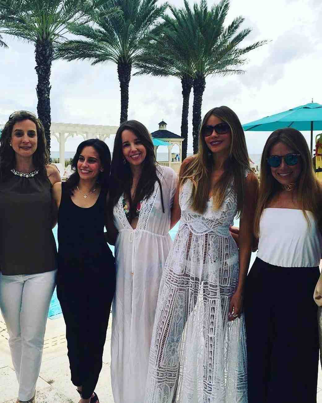 Sofia Vergara's bachelorette party