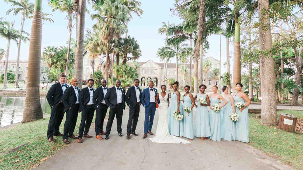 A Chic Island Wedding in Barbados