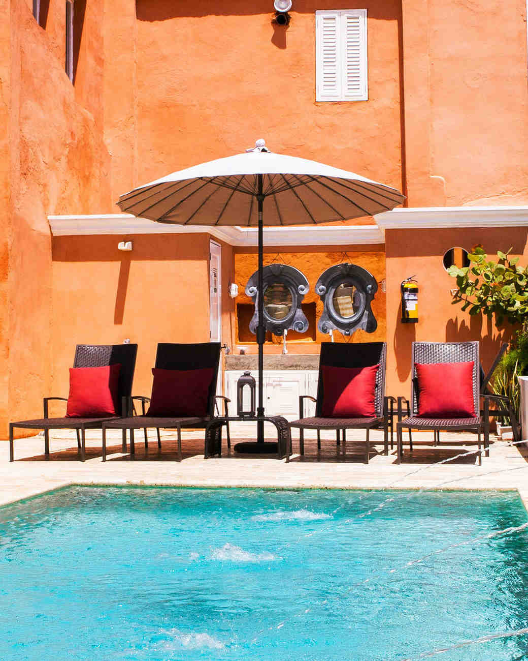 cartagena hotels cassa del coliseo pool