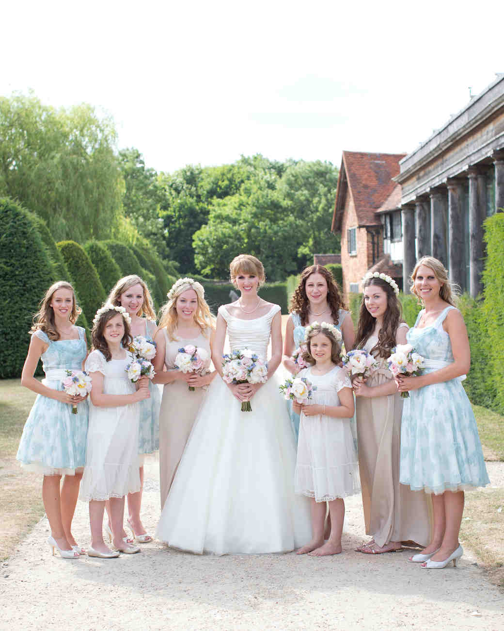 Egham Wedding Venue: A Pink And White Rustic Wedding In The English Countryside