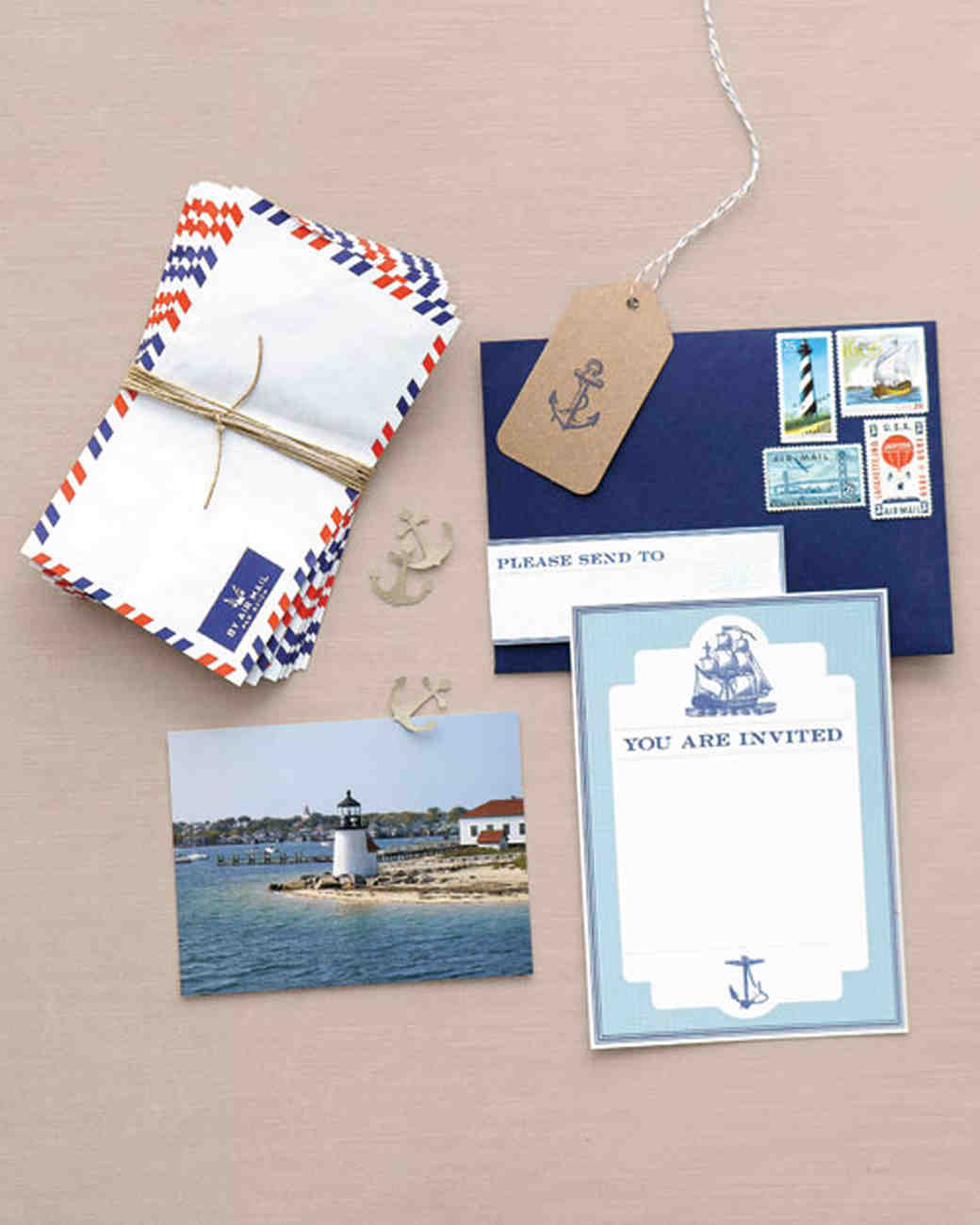 Nautical Paper Goods
