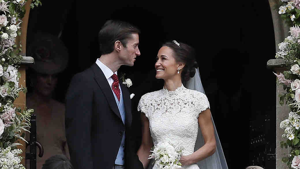 Pippa Middleton and James Matthews wedding day