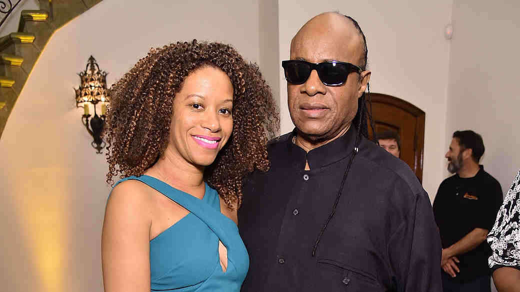 Stevie Wonder and wife Tomeeka Robyn Bracy