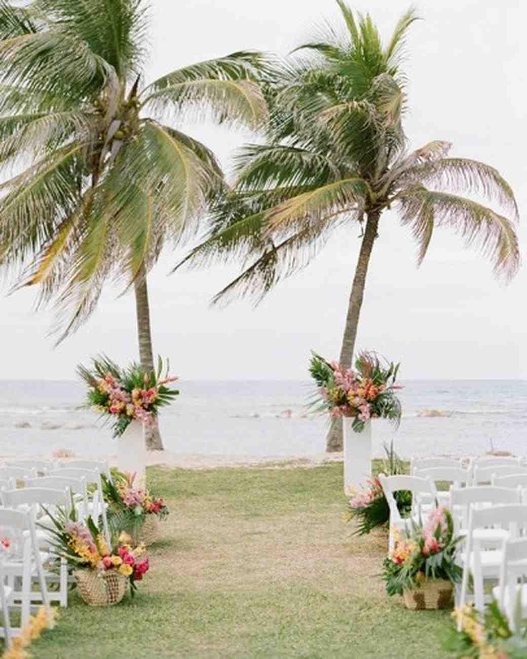Island Time 33 Tropical Wedding Ideas We Love Martha