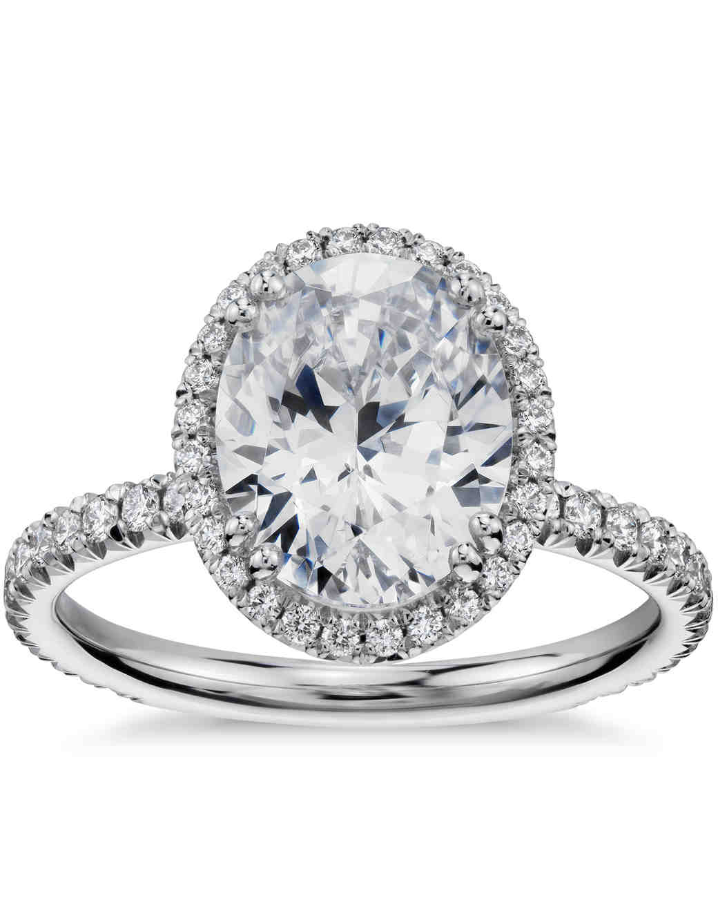 Blue Nile Oval Engagement Ring