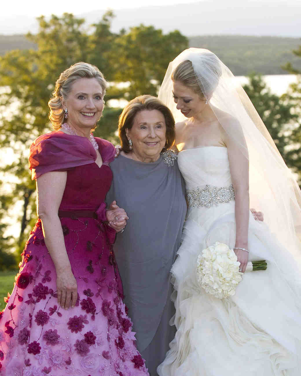 Hilary Clinton as the Mother of the Bride