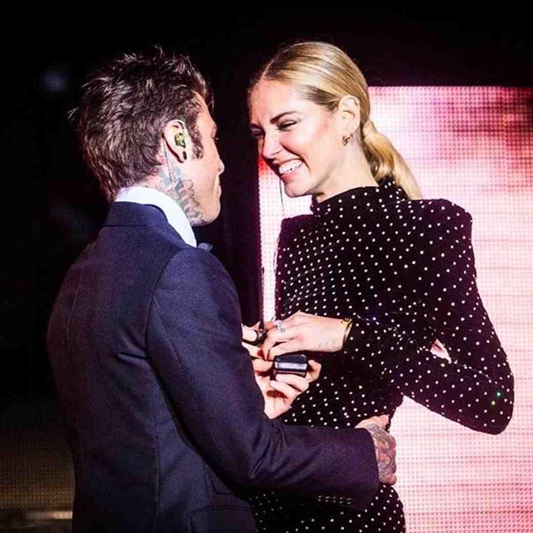 Chiara Ferragni engagement to Italian rapper Fedez