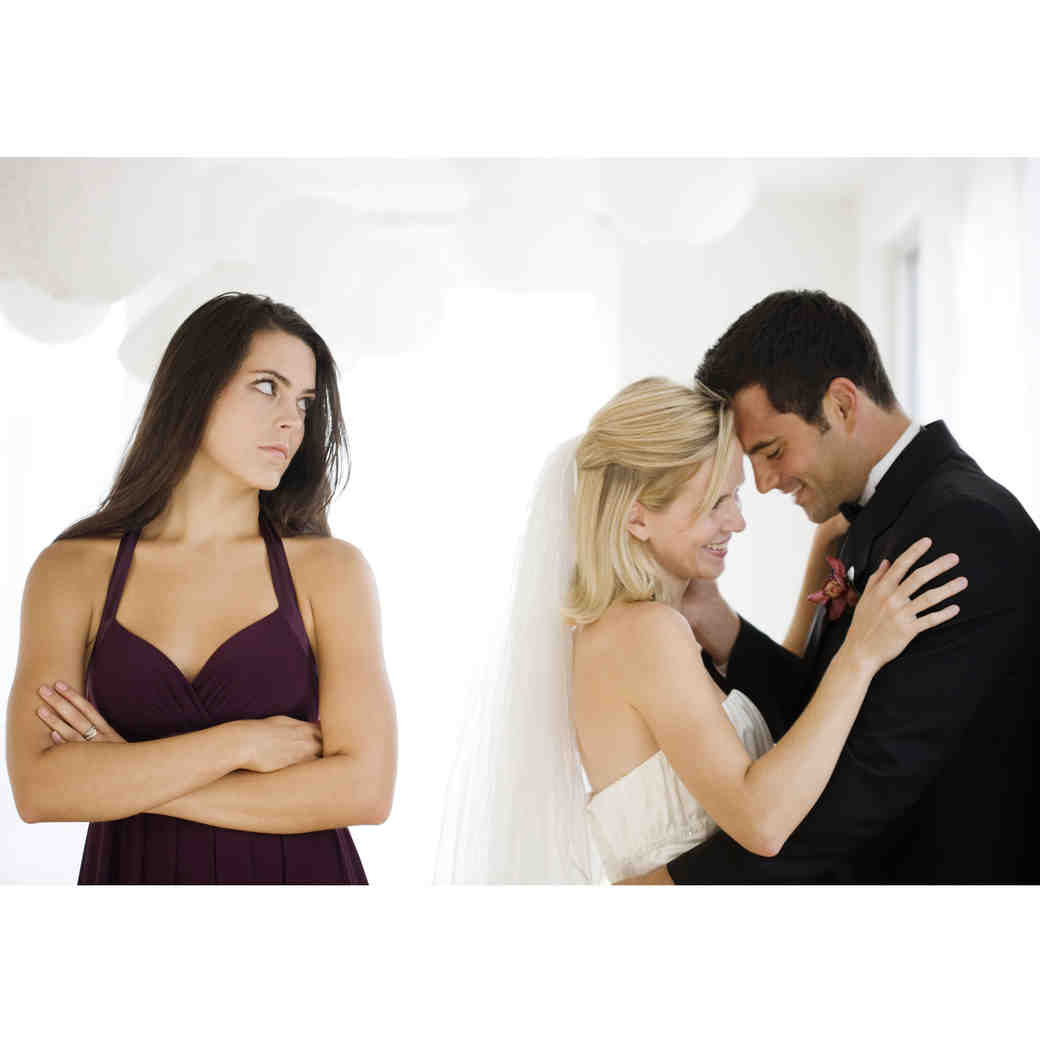 What to Do if Your Groom and Maid of Honor Don't Get Along
