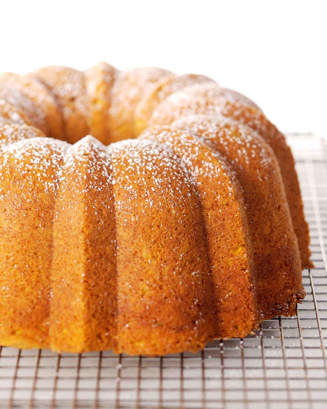 Martha Stewart Pumpkin Cake Bundt