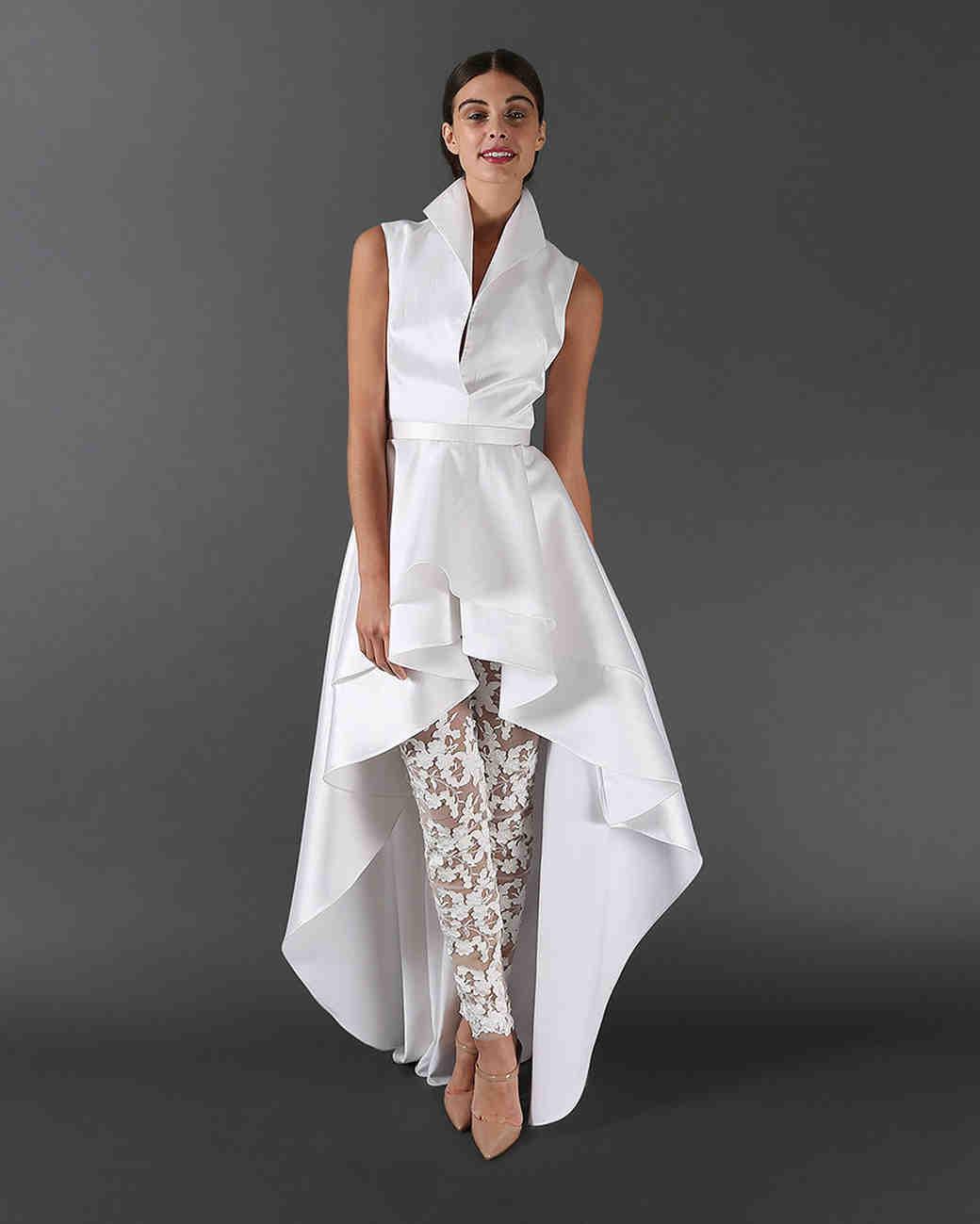 Plus Size Wedding Dresses with Pocket