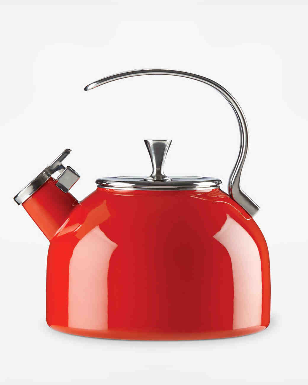 kate spade new york red tea kettle