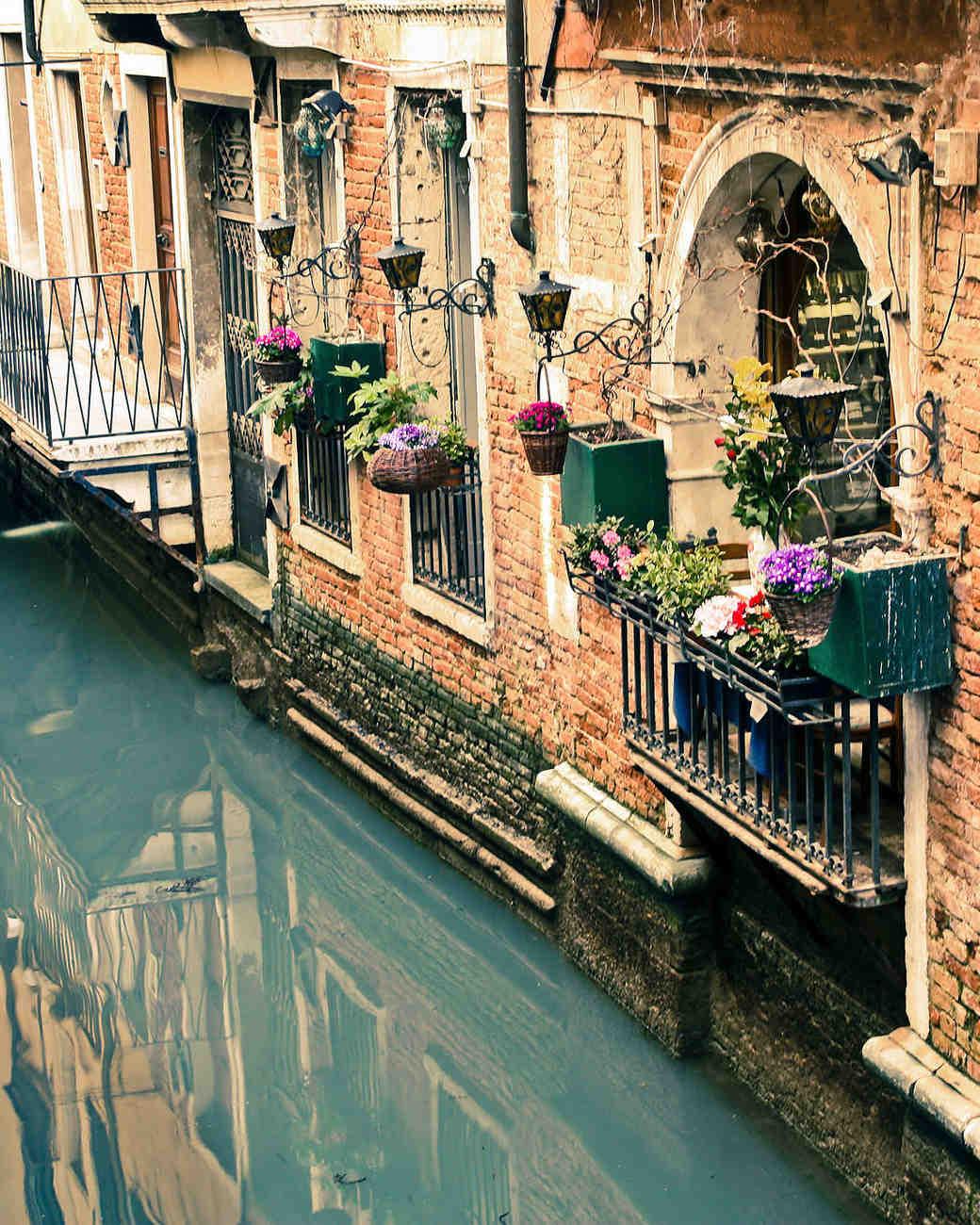 venice canals italy honeymoon